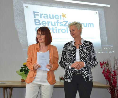 Sabine Platzer-Werlberger, Itta Tenschert, Doris Batkowski und Gerlinde Kieberl (v.l.)