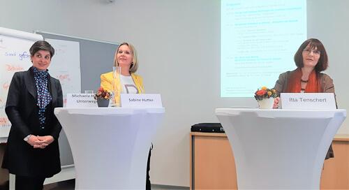 Michaela Hysek-Unterweger, Sabine Hutter, Itta Tenschert