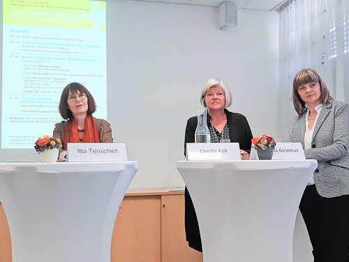 Itta Tenschert, Camilla Köll, Manuela Girstmair
