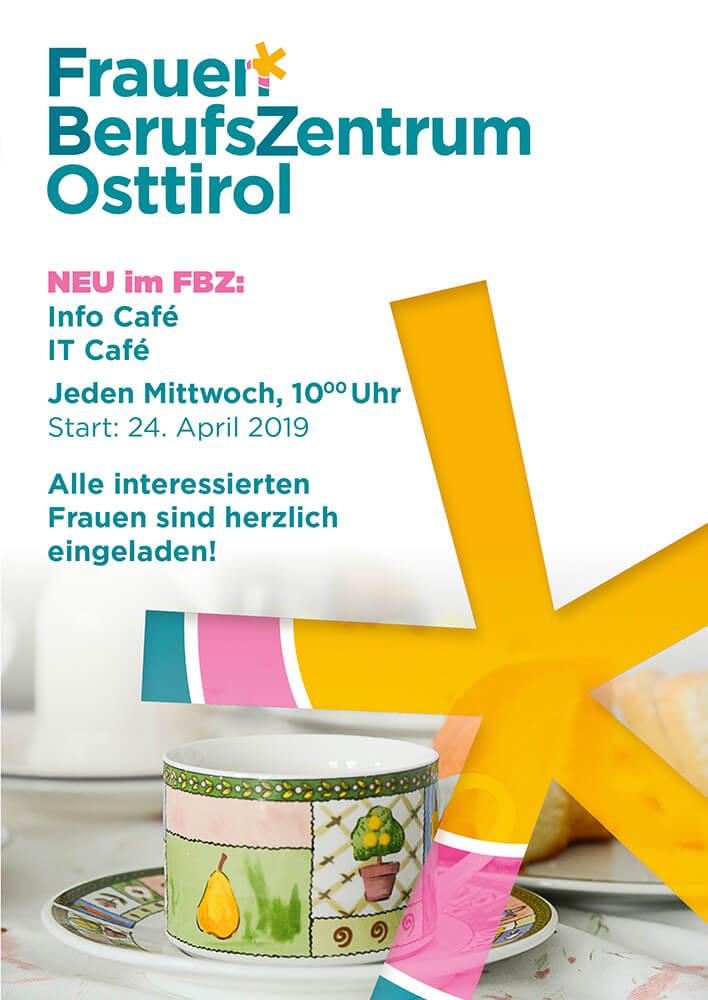 """Infoflyer über den """"Offenen Frauenraum"""" des FBZ Osttirol"""